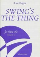 Swing's The Thing for Piano Solo