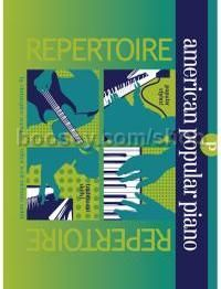 American Popular Piano: Preparatory Repertoire (Book & CD)