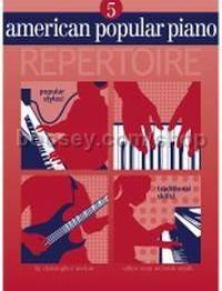 American Popular Piano: Level 05 Repertoire (Book & CD)