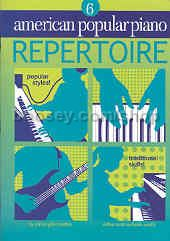 American Popular Piano: Level 06 Repertoire (Book & CD)