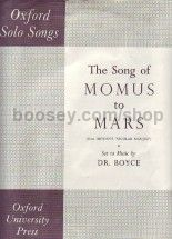 Momus To Mars (the Song Of)