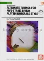 Alternate Tunings For 5 String Banjo Bluegrass +CD