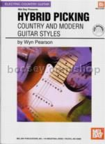 Hybrid Picking Country & Modern Guitar Styles+DVD