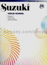 Suzuki Violin School, Vol. 3 (Part + CD) (Revised)