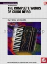 Guido Deiro Complete Works Of, for piano/accordion