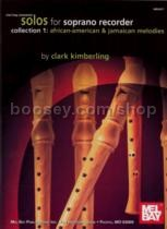 Solos For Soprano Recorder Collection 1