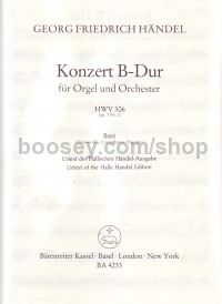 Concerto for Organ in Bb Major, Op.7/1 (Violoncello/Double Bass Part)