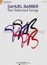 Ten Selected Songs low Voice (Book & CD)
