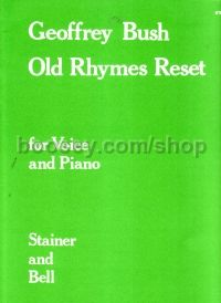 Old Rhymes Reset for voice and piano