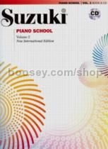 Suzuki Piano School Vol.2 Book & CD (Revised Edition)