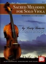 Sacred Melodies For Solo Viola + Pf Accomp