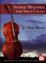Sacred Melodies For Solo Cello + Pf Accomp