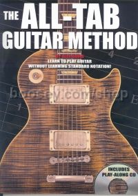 All Tab Guitar Method Complete For Beginners (Book & CD)