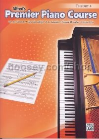 Alfred Premier Piano Course Theory Book Level 4