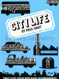 City Life - flute and piano