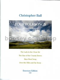Four Folksongs clarinet & piano