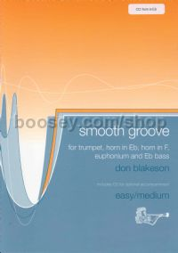 Smooth Groove Horn In Eb (Book & CD)