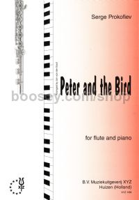 "Peter & the Bird (from ""Peter & The Wolf Op 67"") arr. flute & piano"