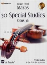 Studies (30 Special) Op. 36 (Book & CD)