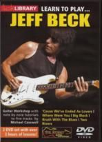 Jeff Beck Learn To Play Lick Library DVD