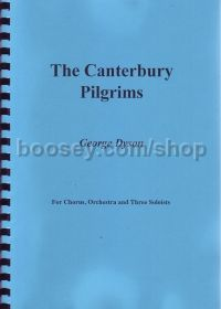 The Canterbury Pilgrims (full vocal score)