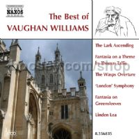 Best Of Vaughan Williams: Fantasia on a Theme by Thomas Tallis, The Wasps etc. (Naxos Audio CD)