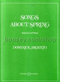 Songs About Spring - soprano & piano