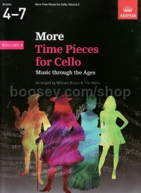 More Time Pieces for Cello, Volume 2