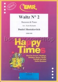 "Waltz (from ""Jazz Suite No.2"") arr. bassoon & piano"