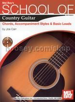 School of Country Guitar Chords Accomp Styles