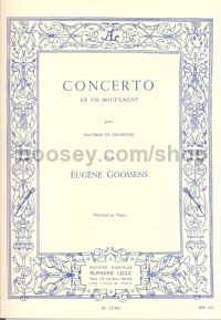 Concerto In One Movement Op. 45 oboe & piano