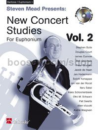 New Concert Studies 2 - Euphonium (TC) (+ CD)