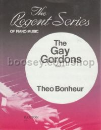 The Gay Gordons for piano solo
