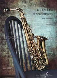 Dodecaprices (22) saxophone