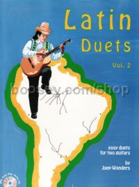 Latin Duets vol.2 guitar Bk/cd