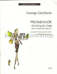 Promenade (walking The Dog) bassoon