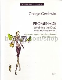 Promenade (walking The Dog) soprano sax