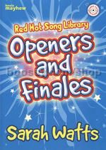 Red Hot Song Library Openers & Finales Watts Bk/CD