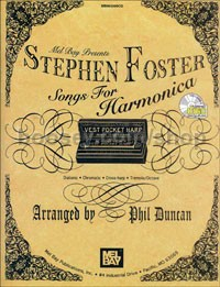 Stephen Foster Songs For Harmonica Bk/CD