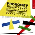 Peter & The Wolf Op 67 (Chandos Classics Audio CD)