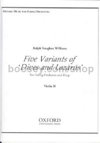 Variants (5) on 'Dives and Lazarus' (violin 2 part)