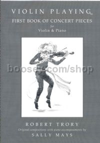 Violin Playing First Book Of Concert Pieces