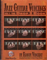 Jazz Guitar Voicings: Vol 1 The Drop 2 Book