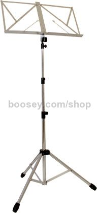 Music Stand Chrome With Carry Bag