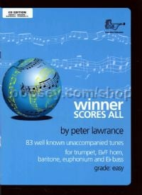 Winner Scores All for Treble Brass (+ CD)