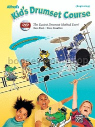 Kid's Drumset Course (beginning) book & Dvd