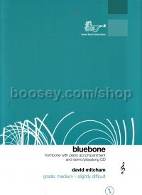 Bluebone for Trombone (Treble Clef) & Piano (+ CD)