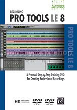 Beginning Pro Tools Le 8 alfred Pro Audio DVD