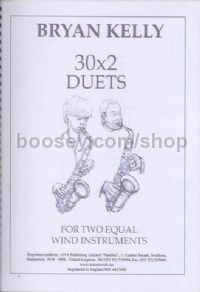 Kelly 30 X 2 (duets for treble clef instruments)