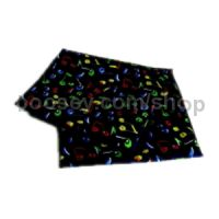 Silk Handkerchief - Colourful Quaver Design